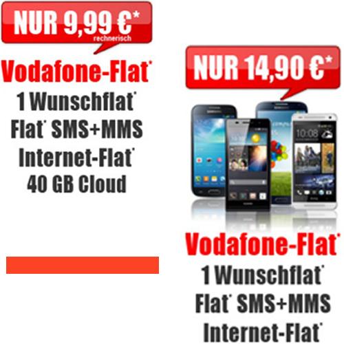 Vodafone Flat 4 You Aktion