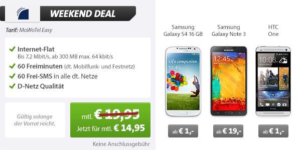 LG G Flex + 60 Min + 60 SMS + Internet 14.95€ mtl