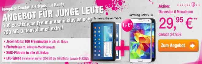 Telekom Complete Comfort S Friends ab 29,95€ mtl