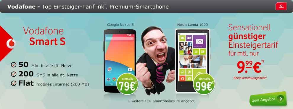 Galaxy S3 + 50 Min + 200 SMS + Datenflat 9.99€ mtl