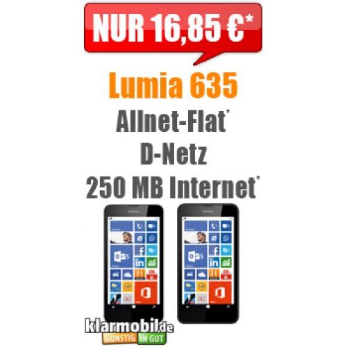 Klarmobil Allnet-Spar-Flat + Lumia 635
