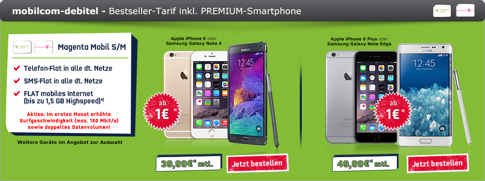Magenta Mobil S Promotion + iPhone 6