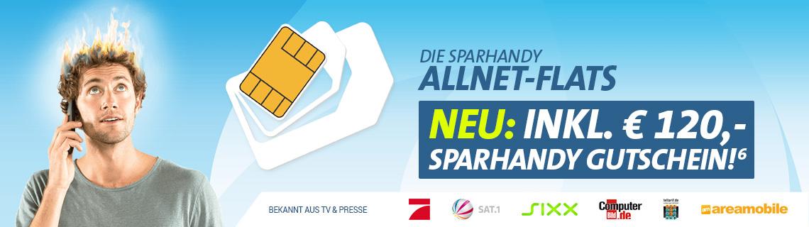 Allnet-Flat XL im Telekom Netz mit 4 GB + 120€ Gutschein – 19,90€ mtl.