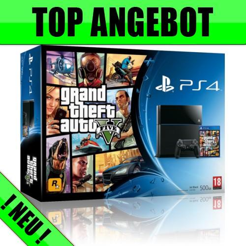 Sony PS4 GTA V + Allnet Flat + 1GB nur 29,99€ mtl.