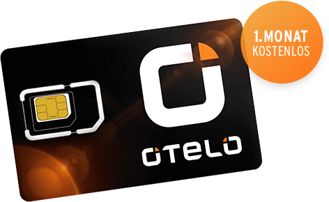 OTELO Prepaid Freikarte – 1 Monat kostenlos mit 400 MB und 300 Min/SMS
