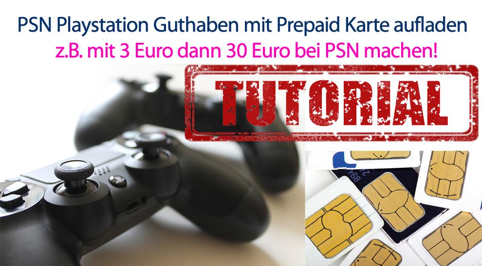 Playstation Karte.Psn Playstation Guthaben Mit Prepaid Karte Aufladen