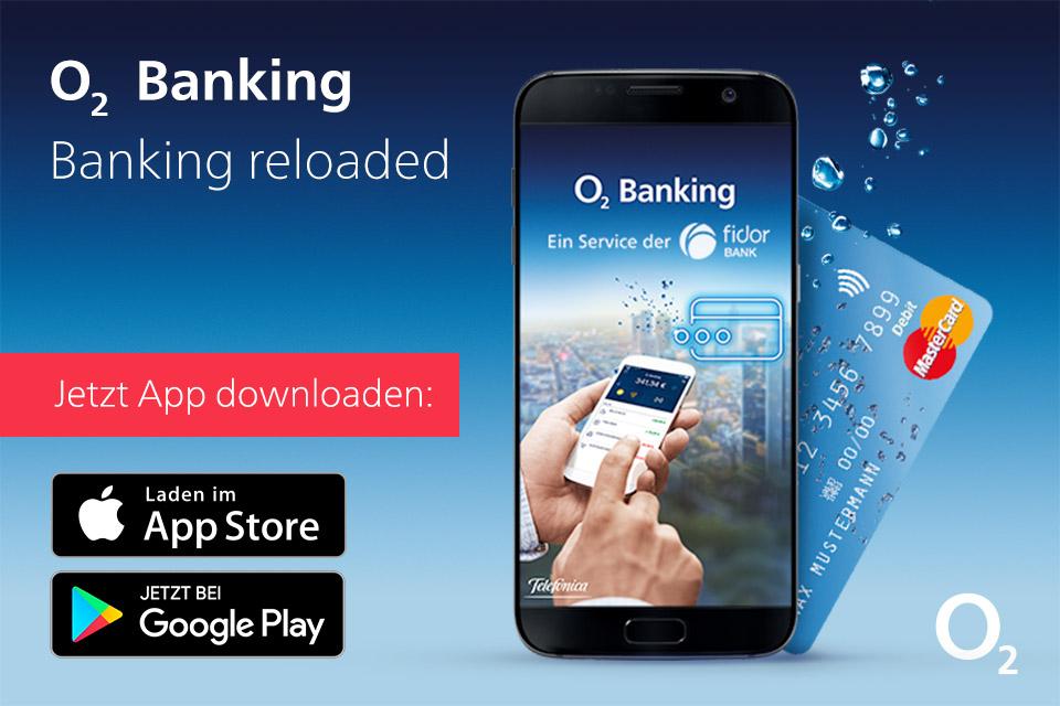 O2 Banking – das mobile Bankkonto fürs Smartphone
