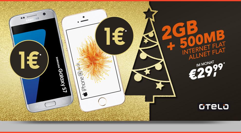 iPhone SE 64 GB + Allnet Flat +2,5GB Daten nur 29,99€ mtl.