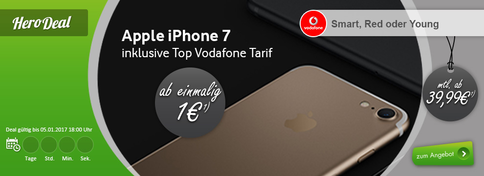 apple iphone 7 2gb lte allnet eu roaming nur 39 99. Black Bedroom Furniture Sets. Home Design Ideas