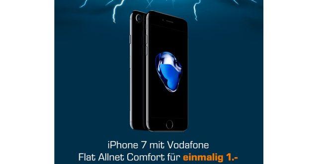 iPhone 7 mit Allnet und 1GB nur 26,99€ mtl.