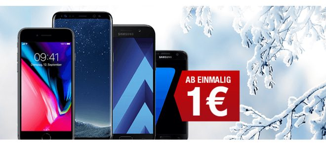 Galaxy A5 (2017) mit 5GB LTE Turbo nur 21,99€ mtl.