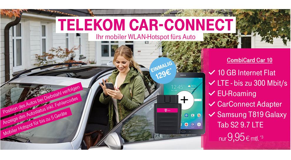 telekom car connect mit 10gb lte nur 9 95 mtl. Black Bedroom Furniture Sets. Home Design Ideas