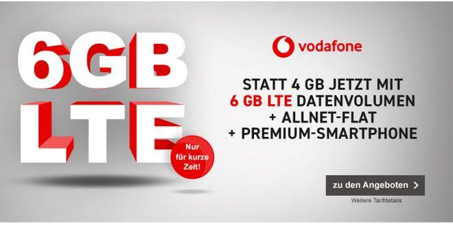 6 GB LTE mit iPhone X nur 51,99€ mtl.