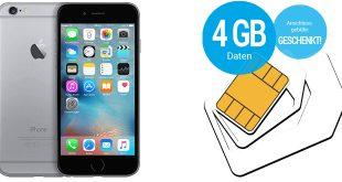 iPhone 6 mit 4 GB LTE und Allnet nur 19,99€ mtl.