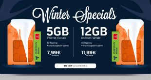 12 GB LTE im Vodafone Netz nur 11,99€ mtl.