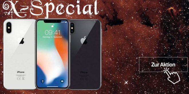 iPhone X mit 6 GB LTE Vodafone nur 46,99€ mtl.