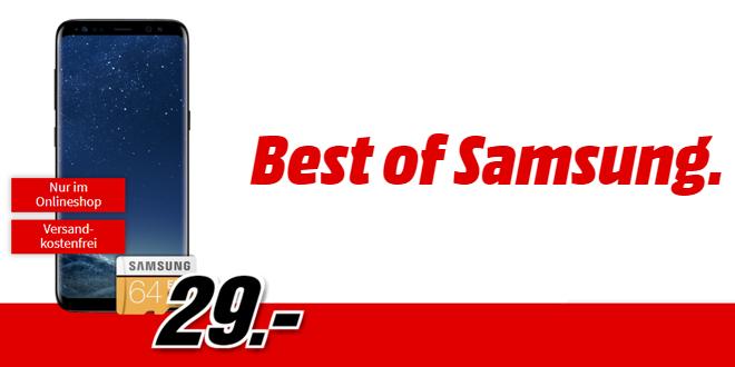 Galaxy S8 mit XBox One oder Playstation 4 mit Allnet nur 26,99€