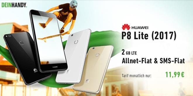 P8 Lite mit 2 GB LTE Allnet nur 11,99€ mtl.