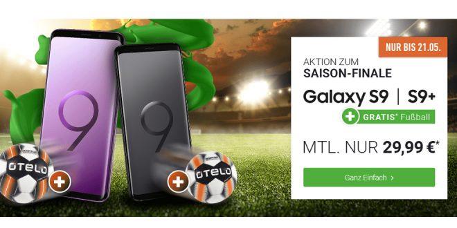 Galaxy S9 mit 6 GB Internet und Allnet nur 29,99€ mtl.