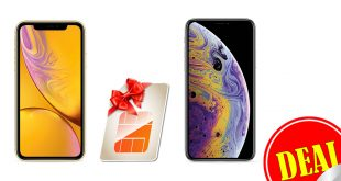 iPhone XR / iPhone XS mit 11GB LTE nur 46,99€ mtl.