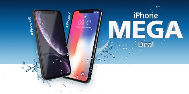 iPhone X / iPhone Xr mit 10 GB LTE ab 44,99e mtl.