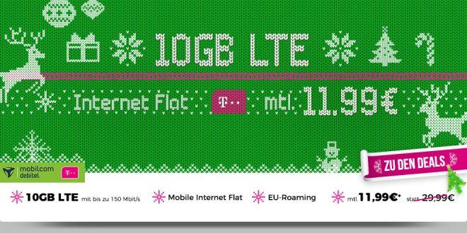 10GB LTE Telekom nur 11,99€ mtl.