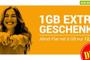 6GB LTE Allnet nur 12,99€
