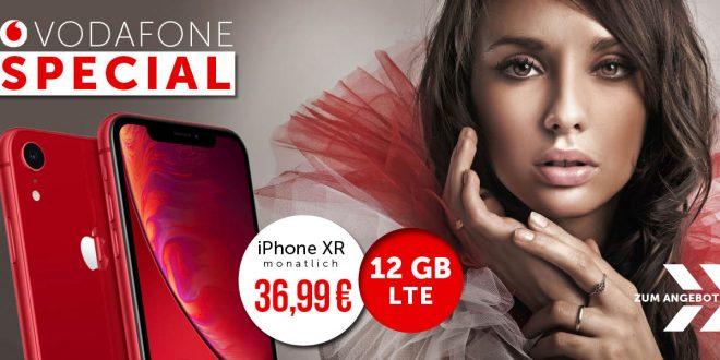 iPhone XR + 7 GB LTE nur 36,99€