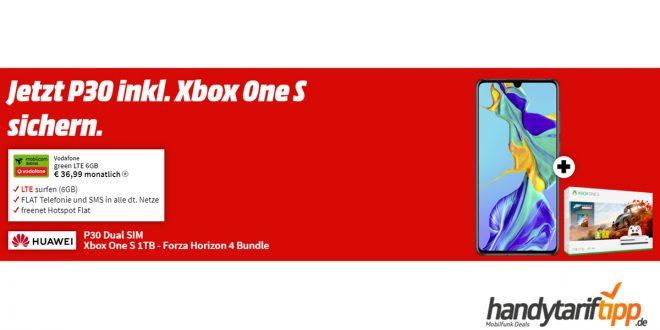 Huawei P30 + Xbox und 6 GB LTE nur 36,99€