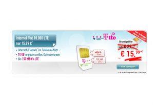 10 GB LTE TELEKOM NUR 15,99€
