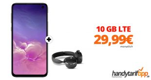 Galaxy S10e & AKG Y500 mit 10 GB LTE nur 29,99€
