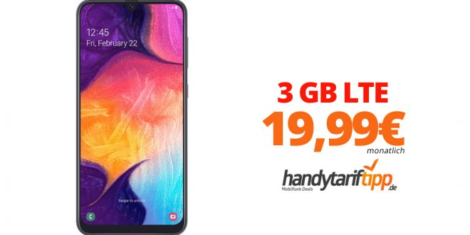 Galaxy A50 mit 3 GB LTE nur 19,99€