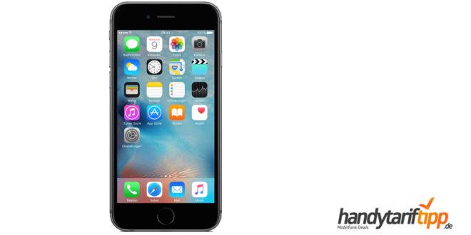 iPhone 6s mit Allnet und 1GB nur 11,99€