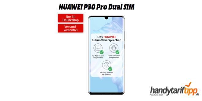HUAWEI P30 Pro mit 20 GB LTE nur 34,99€