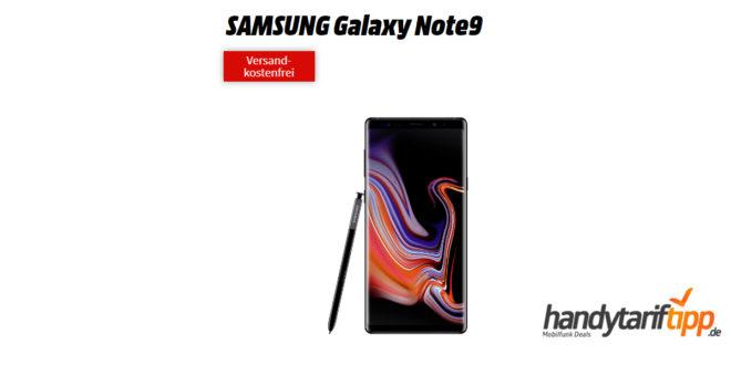 Galaxy Note9 mit 6 GB LTE nur 31,99€
