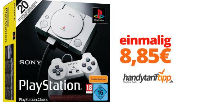 Sony Playstation Classic mit 2 SIM Karten nur 8,85€
