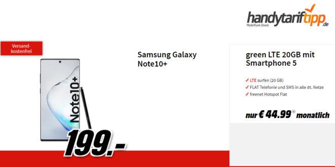 Galaxy Note10+ mit 20GB LTE Vodafone nur 44,99€