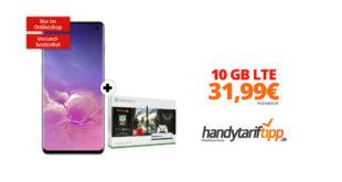 Galaxy S10 & Xbox One S mit 10 GB LTE nur 31,99€