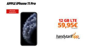 APPLE iPhone 11 Pro mit 12 GB LTE Telekom nur 59,95€