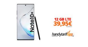 Galaxy Note10+ mit 12 GB LTE Telekom nur 39,95€