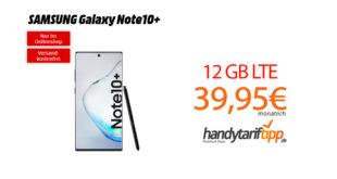 Note10+ mit 12 GB LTE Telekom nur 39,95€
