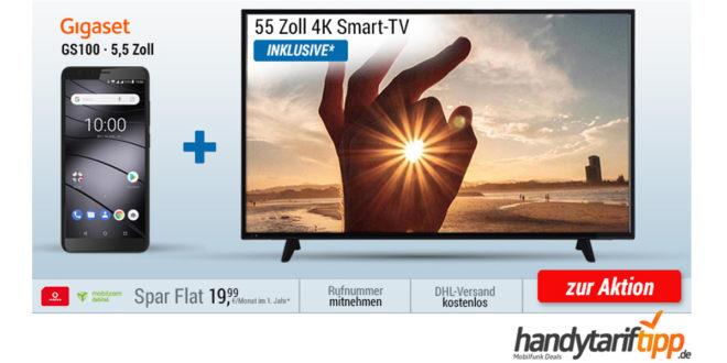 55 Zoll UHD TV + Smartphone im Schnitt nur 26,24€ mtl.