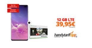 Galaxy S10+ & Xbox One S mit 12 GB LTE Telekom nur 39,95€