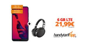 P20 Pro & Sennheiser HD 4.50 mit 6 GB LTE im Telekom Netz nur 21,99€
