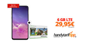 Galaxy S10e & Xbox one S 1TB mit 6 GB LTE im Telekom Netz nur 29,95€
