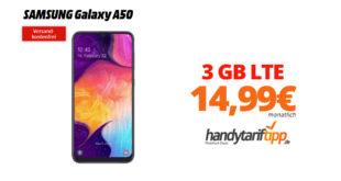 Galaxy A50 mit 3 GB LTE nur 14,99€