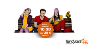 10 GB LTE Telekom (monatlich kündbar) nur 25 Euro