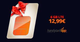 6 GB LTE im Vodafone Netz nur 12,99€