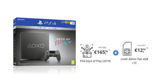 PS4 Days of Play (2019) mit 4 GB LTE nur 12,99€