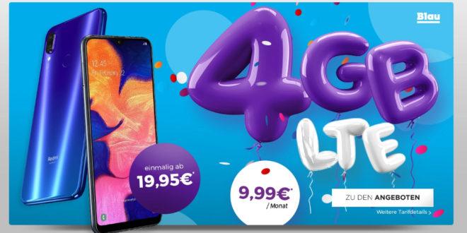 Redmi Note 7 mit 4 GB LTE nur 9,99€